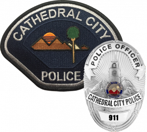 Badge Patch - Cathedral City Police Department